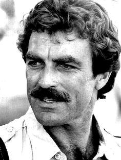 Tom Selleck always had a nice looking mustache.