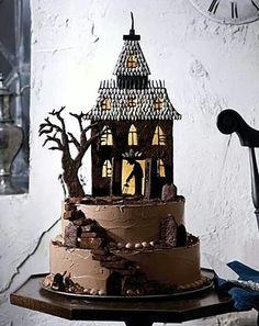 .Casa del terror de pastel
