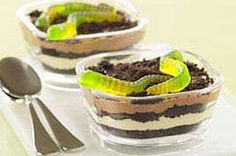 Cups of Dirt or Sand (Oreo Pudding Parfaits)