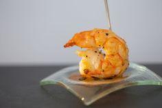 Camarão VM com geléia de pimenta biquinho [ Buffet | Finger food ]
