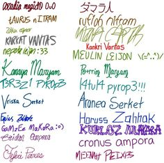Whose handwriting does YOURS resemble most? (I think mine looks a lot like Cronus's or Gamzee's)