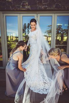 Bohemian wedding dress in fit and flare trumpet silhouette with scalloped V-back and scalloped scoop neckline made in gorgeous couture lace with dramatic pattern The wedding dress is professionally constructed and tailored in European atelier according to your personal measurements.
