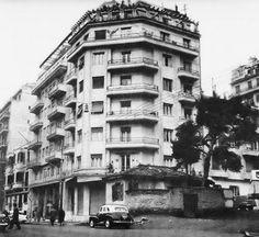 κ Thessaloniki, Greece, Multi Story Building, Street View, Black And White, Ghosts, City, Beautiful, Greece Country