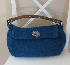 Knit Bag Pattern  Felted Purse Pattern by DeborahOLearyPattern