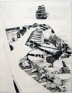 """Philip Kappel, """"Off El Morro"""" Puerto Rico"""