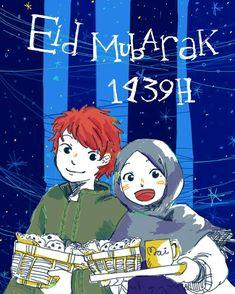 Eid mubarak 1439 H by taigabluet aka aurumaima