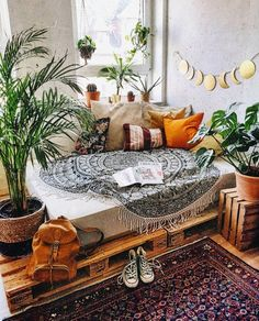 50 Boho Inspired Home Decor Plans Boho Bedroom Boho decor Home Inspired Plans Boho Room, Bohemian Bedroom Decor, Hippie Room Decor, Zen Room, Hippie Living Room, Bohemian Dorm Rooms, Hippy Room, Bohemian Interior Design, Bohemian Furniture