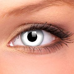 Whiteout Crazy Contact Lenses (Pair)