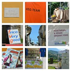 festivalveg_collage www.moglialunga.it #veg #food Organic Recipes, Collage, Books, Cards, Vegetarian, Collages, Libros, Book, Collage Art