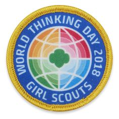 Fun patches give you and your troop the freedom to get super creative and mix in some new activities. From rock painting to World Thinking Day, Cambria shares 5 fun patches your girls need to add t… Girl Scout Store, Girl Scout Swap, Girl Scout Leader, Brownie Girl Scouts, Boy Scouts, Gs World, Girl Scout Fun Patches, Girl Scout Activities, World Thinking Day