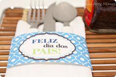 Do It Yourself - DIY - Porta Talher personalizado - Anel para guardanapo- Tuty - Arte & Mimos www.tuty.com.br