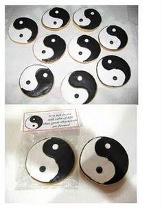 Yin-Yang Cookies by Cristin's Cookies