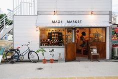 Maxi Market.  Sometimes I want to live in a small beach town and run a little shop like this one.