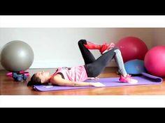 Ebru Şallı ile Kalça ve Bacak Sıkılaştırma - YouTube