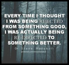 In what ways has being rejected been for your greatest good? https://fwpi.infusionsoft.com/go/ewoblog/AliMM/