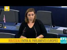ROUSSEAU ENTRA AL PARLAMENTO EUROPEO! (Adinolfi EFDD-M5S)