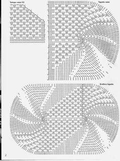 Moldes y patrones para confeccionar juego de baño de cubre inodoro y alfombras con ganchillo