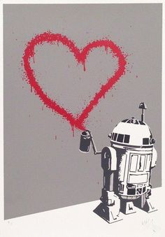 (Silkscreen Signed Limited Edition of by RYCA high quality art print / poster, plus art prints and posters by hundreds more famous artists. Contemporary Printmaking, Contemporary Art, Famous Artists, Artist At Work, Pop Art, 3 D, Graffiti, Street Art, Star Wars