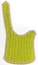 Hagesmæk i ret- og vrangmønster Knitting For Kids, Knitting For Beginners, Baby Knitting, Crochet Baby, Knit Crochet, Baby Barn, Knitted Dolls, Kids Hats, Baby Booties