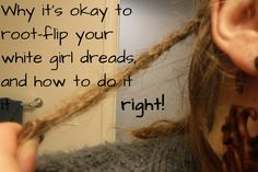 I'm in the process of taking out my dreads. And I'd be remiss if I didn't write a post on this one topic that I have found so little information about. There are tons of opinions out there on whether and why you should or shouldn't root-flip/interlock/latch-hook your dreads. I've… Continue reading