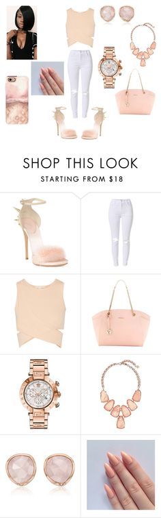 """it ain't nothing but fashion ❤"" by cockystyles1 ❤ liked on Polyvore featuring Giuseppe Zanotti, Jonathan Simkhai, Furla, Versace, Kendra Scott, Monica Vinader and Casetify"