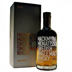 From the land of the midnight sun, Mackmyra Midnattssol Swedish Single Malt Whisky is matured in a combination of Sherry and Bourbon casks before a final maturation in casks that have contained birch sap wine.