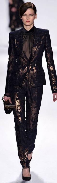 J Mendel Fall Winter 2013 - I'll just go ahead & choose a different blouse... haha
