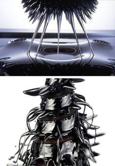 Sachiko Kodama explores ferrofluid