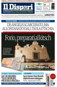 La copertina del 25 ottobre 2016 #ischia #ildispari