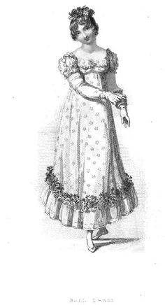 Regency Fashion: Ball and Carriage Dresses