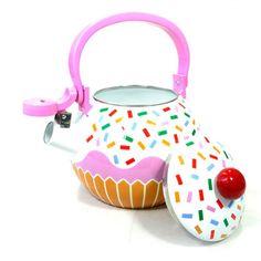 Inspiração. Pesquisa Iconográfica. Chaleira Cupcake