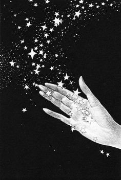 Willy Pogany1882-1955  -  Illustration from The Rubaiyat of Omar Khayyam  -  PublishedbyDavid McKay, 1942 -- viaGolden Age Comic Book Stories   ---  This makes me think of the song - 'Catch a falling star'