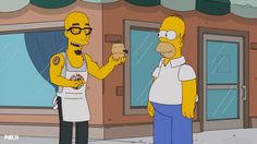 The Simpsons:  Beer Keg Donut Recipe on www.TastieThyme.com