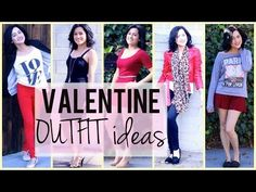 Valentine Outfit Ideas   Day to Night! <3