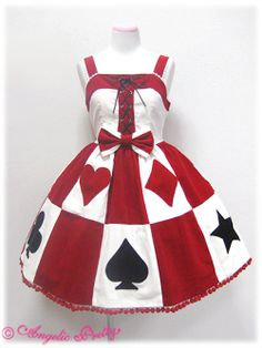 playing cards dress