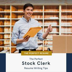Do you want to apply for a Stock Clerk position to help you get closer to your career goals? Applying for jobs on Seek, LinkedIn, and other job boards can be a time-consuming process, however, to streamline the process, you can ensure your resume writing helps you to stand out from the crowd, and your online profile helps you to get an interview!