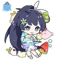 Chibi Cute Summer by shikitemeikato on DeviantArt Chibi Manga, Naruto Chibi, Dibujos Anime Chibi, Manga Anime, Anime Art, Kawaii Anime, Cute Anime Chibi, Kawaii Chibi, Kawaii Art