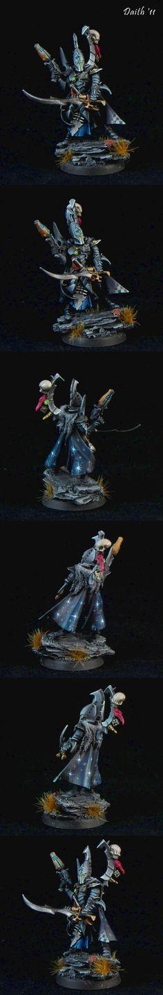 40k - Dark Eldar Duke Sliscus the Serpent by Daith '11