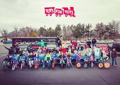 Thanks to your orders on our Pizza Wednesday Extravaganza Virtual Pizza Party we bought over 230 toys for Toys for Tots this weekend! We also had quite a good time shopping   #totsfortoys #giveback