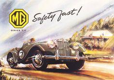 MG TF poster