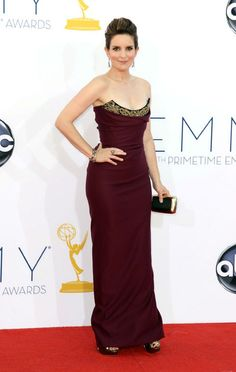 Tina Fey arrives 2012 Emmys. head to toe perfect! best she's looked in awhile!