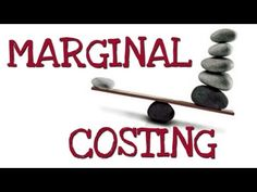 Marginal cost is the change in the total cost when the quantity produced is incremented by one. That is, it is the cost of producing one more unit of a good