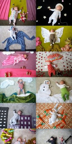 Fun Family Photography – Page 5 – icanpinview Monthly Baby Photos, Newborn Baby Photos, Baby Poses, Newborn Pictures, Monthly Pictures, Funny Baby Pictures, Cute Baby Sleeping, Foto Baby, Newborn Baby Photography