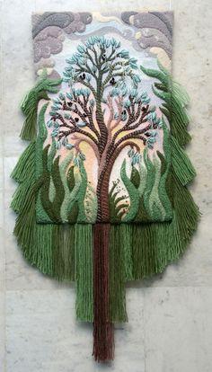 3D non-woven tapestry by Yuri N. Hovsepian - Viola.bz