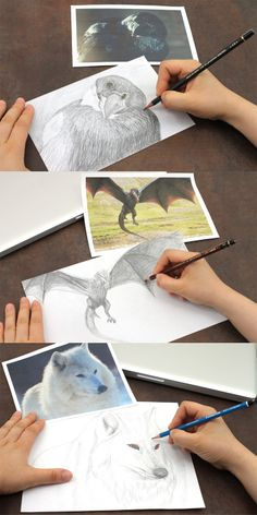 Drawing with some of our favorite pencils. Click through to see more!