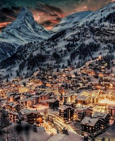 Zermatt, Beautiful Places To Travel, Beautiful World, Wonderful Places, Beautiful Beautiful, Amazing Places, Beautiful Dresses, Beautiful Pictures, Winter Scenery