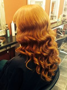 Deep vintage waves with the wand - hair by Jac