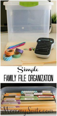 141c0b70ff3 Family File Organization. Family Organization WallFiling Cabinet  OrganizationBudget OrganizationHome Office OrganizationOrganizing ...