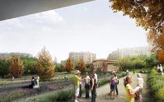 west 8: sagrera linear park winning design