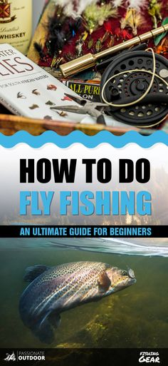 This Ultimate Fly Fishing for Beginners guide which will provide all the required information for beginners to make it more successful bag for fishes. Walleye Fishing, Fishing Knots, Carp Fishing, Fishing Tips, Fishing Lures, Fishing Stuff, Ice Fishing, Fishing Tackle, Survival Tips
